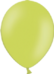 "10"" Pastel/Standard Apple Green Latex Balloon"
